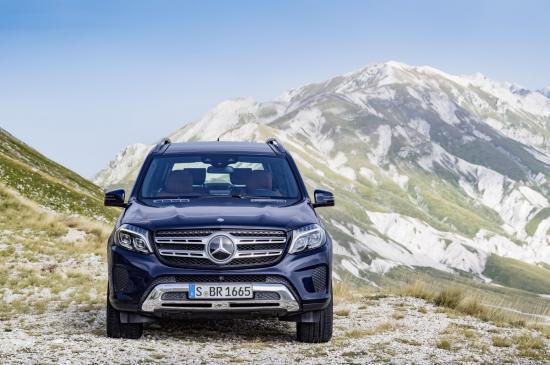 Mercedes-Benz GLS thực hiện một số thay đổi về thiết kế 3