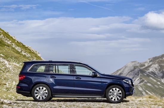 Mercedes-Benz GLS thực hiện một số thay đổi về thiết kế 2
