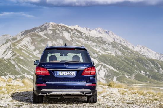 Mercedes-Benz GLS thực h 1iện một số thay đổi về thiết kế