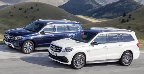 Mercedes-Benz GLS thực hiện một số thay đổi về thiết kế