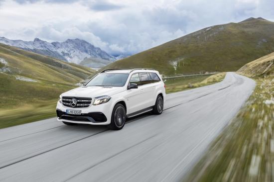 Mercedes-Benz GLS thực hiện một số thay đổi về thiết kế 22