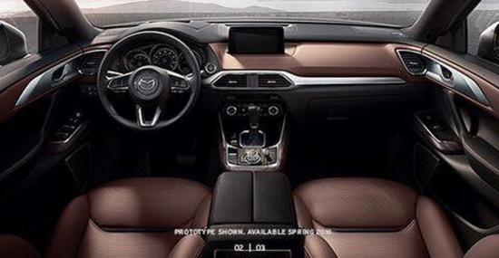 Mazda CX-9 2016 chuẩn bị ra mắt  5