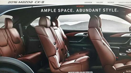 Mazda CX-9 2016 chuẩn bị ra mắt  1