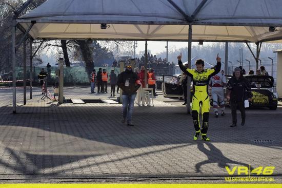 Đây là lần thứ 4 Rossi được vinh danh tại Monza Rally Show 5