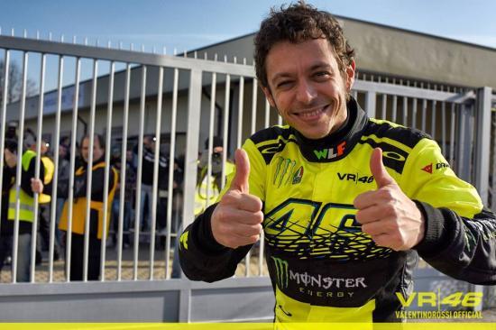 Rossi giành chức vô địch giải đua ô tô 1