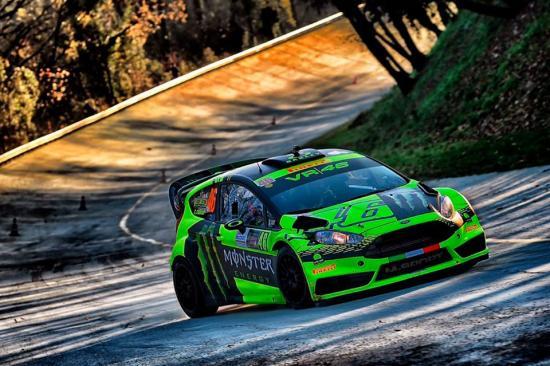 Đây là lần thứ 4 Rossi được vinh danh tại Monza Rally Show 3