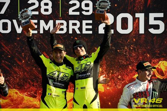 Đây là lần thứ 4 Rossi được vinh danh tại Monza Rally Show 2