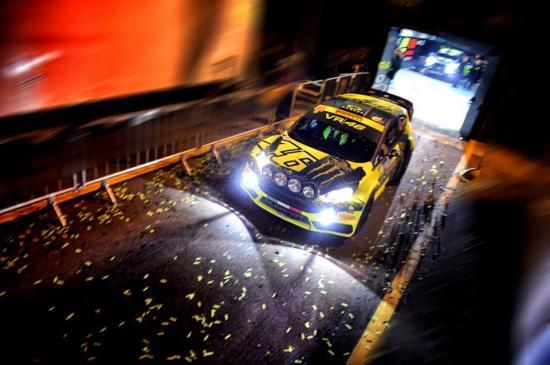 Đây là lần thứ 4 Rossi được vinh danh tại Monza Rally Show 1