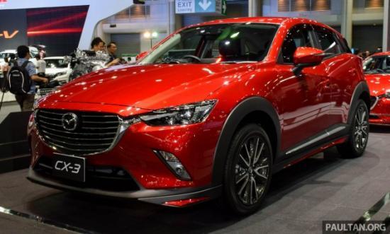 Mazda CX-3 sẽ cạnh tranh trong phân khúc SUV cỡ nhỏ 11
