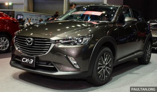 Mazda CX-3 sẽ cạnh tranh trong phân khúc SUV cỡ nhỏ