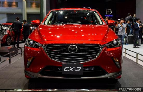 Mazda CX-3 sẽ cạnh tranh trong phân khúc SUV cỡ nhỏ 8