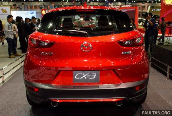 Mazda CX-3 sẽ cạnh tranh trong phân khúc SUV cỡ nhỏ 7