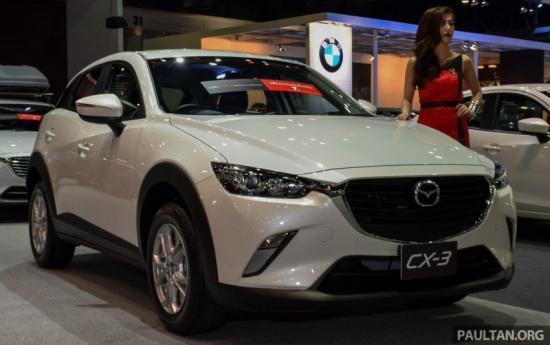 Mazda CX-3 sẽ cạnh tranh trong phân khúc SUV cỡ nhỏ 6