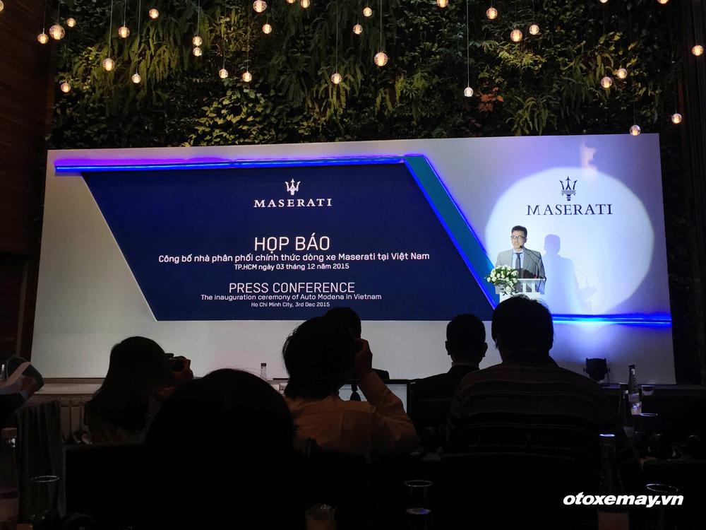 Maserati Việt Nam ra mắt với tham vọng 10% thị phần - ảnh2
