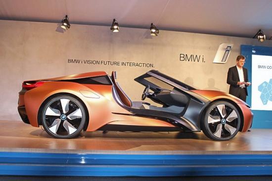 BMW bắt đầu chạy thử i8 Roadster