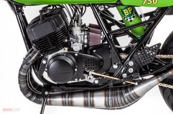 Kawasaki café racer  3