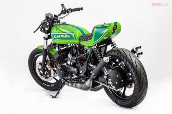 Kawasaki café racer 4