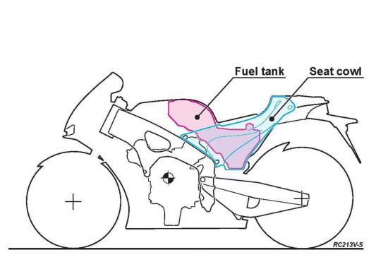 motoGP của Honda bản thương mại a 16