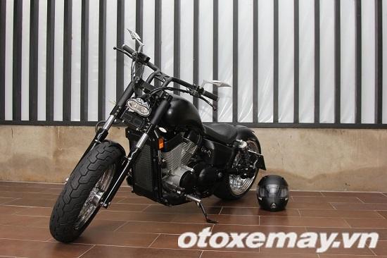 """""""Săn"""" Honda Shadow độ Chopper 'gấu' tại Sài Gòn"""