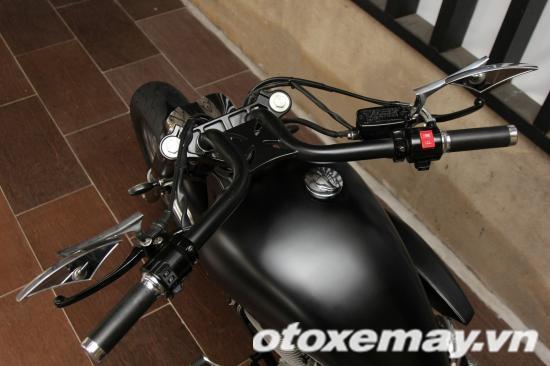 """""""Săn"""" Honda Shadow độ Chopper 'gấu' tại Sài Gòn 7"""