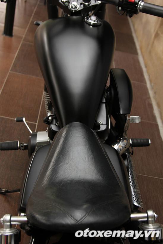 """""""Săn"""" Honda Shadow độ Chopper 'gấu' tại Sài Gòn 10"""
