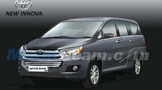 Toyota đem Innova 2016 chạy thử ngoài đường cao tốc