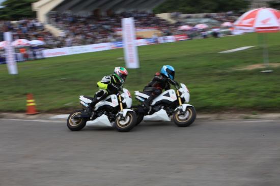 Honda Việt Nam lấn sân vào xe đua 13