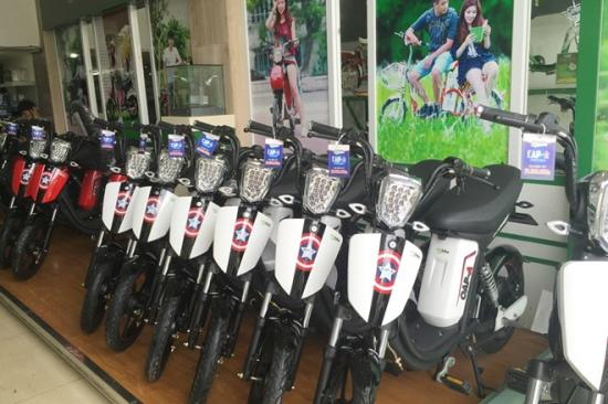 Xe đạp điện vào mùa 'hái ra tiền' 2