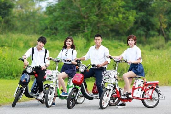 Xe đạp điện vào mùa 'hái ra tiền' 5