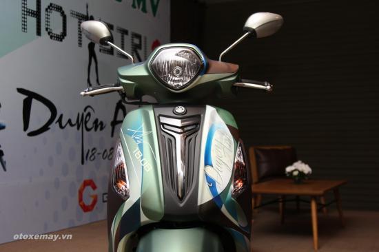 Ngắm Yamaha Grande độ duyên dáng của ca sĩ Duyên Anh3