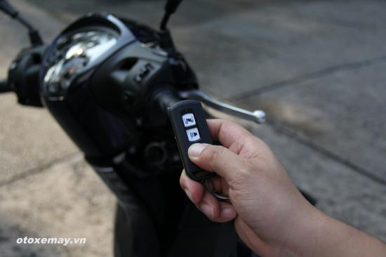 Cách sử dụng khoá thông minh Honda SH đời mới 6