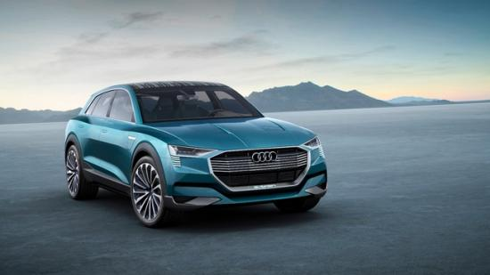 IAA 2015: Audi thách thức Tesla bằng E-tron Quattro đầy sắc sảo 1