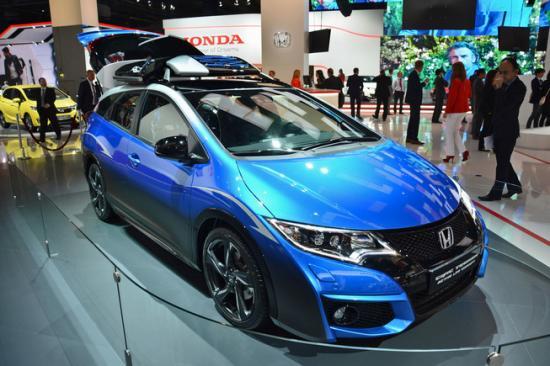 IAA 2015: Honda giới thiệu Civic Tourer Active Life tiện dụng 1