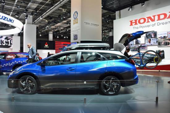 IAA 2015: Honda giới thiệu Civic Tourer Active Life tiện dụng 2