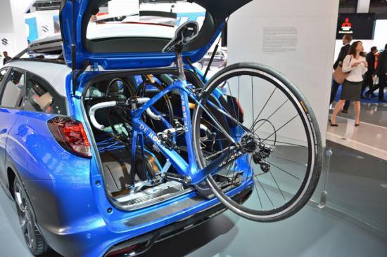 IAA 2015: Honda giới thiệu Civic Tourer Active Life tiện dụng 4