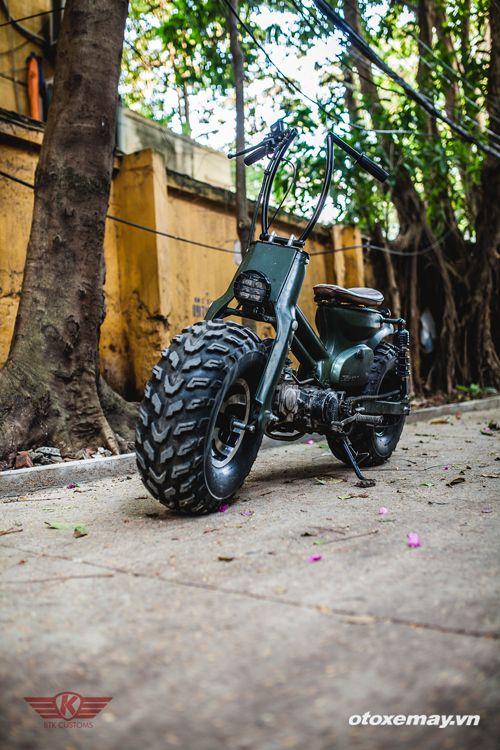 Honda Cub biến hình khỉ đột 5