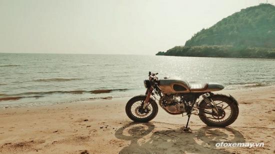 Phá cách với café racer của rocker Việt 11