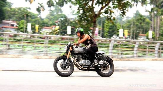 Phá cách với café racer của rocker Việt 12