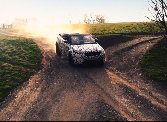Range Rover Convertible phô diễn khả năng off-road 1