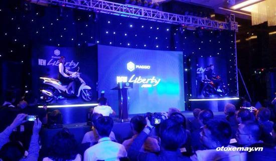 Piaggio tung bản Liberty hoàn toàn mới có ABS lần đầu tại Việt Nam 1