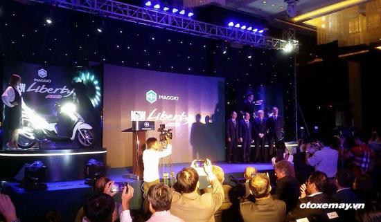 Piaggio tung bản Liberty hoàn toàn mới có ABS lần đầu tại Việt Nam 2
