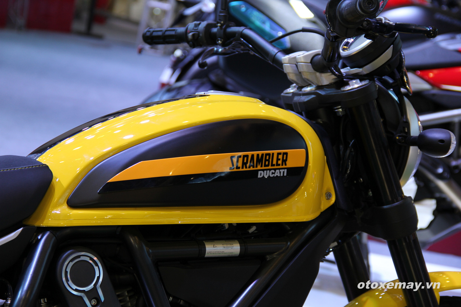 VIMS 2015: Cá tính Ducati khuấy động triển lãm_anh5