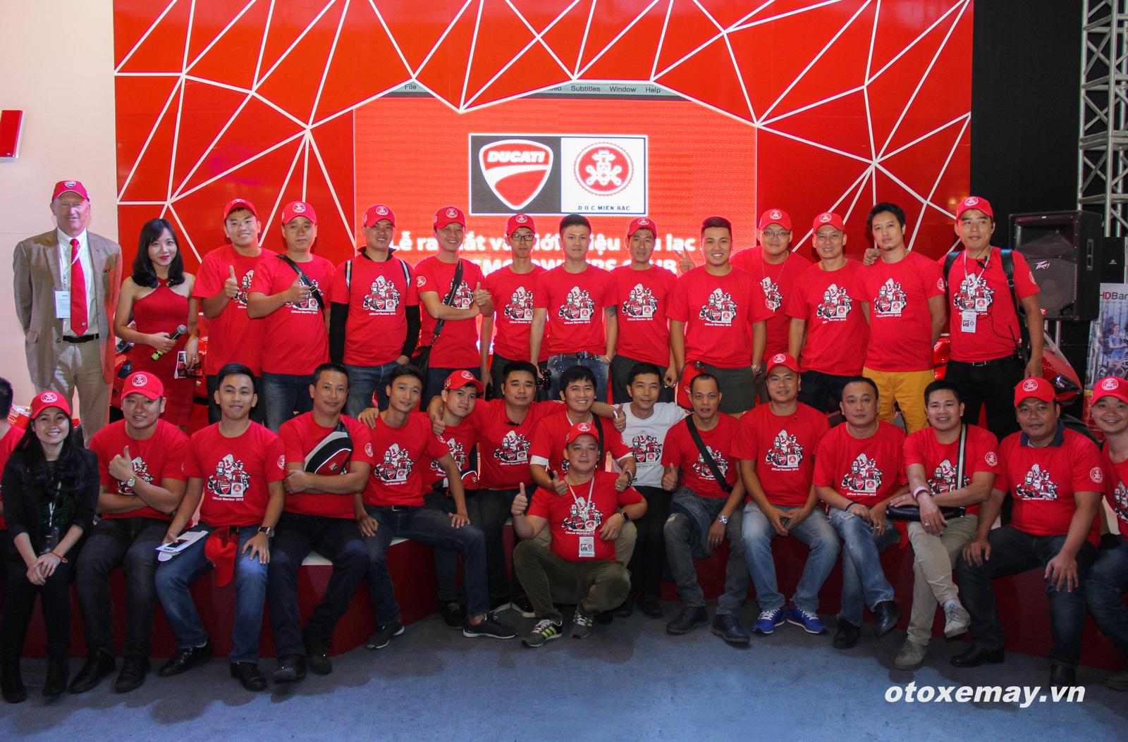 VIMS 2015: D.O.C Miền Bắc chính thức nhập hội Ducatisti thế giới 8