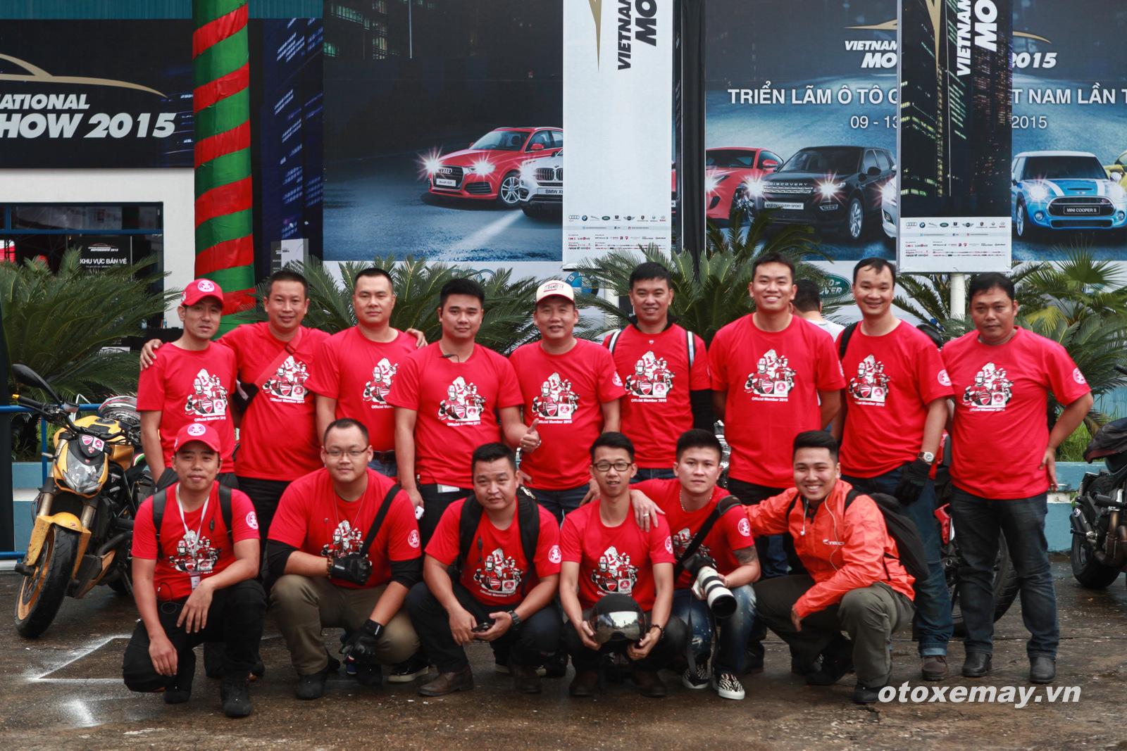 VIMS 2015: D.O.C Miền Bắc chính thức nhập hội Ducatisti thế giới 1