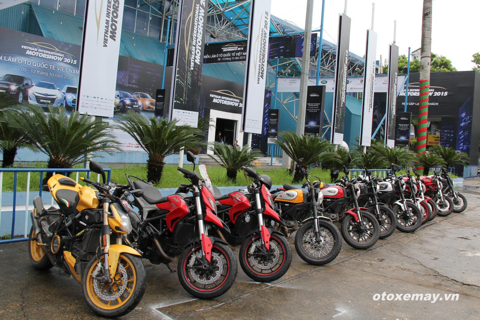 VIMS 2015: D.O.C Miền Bắc chính thức nhập hội Ducatisti thế giới 2