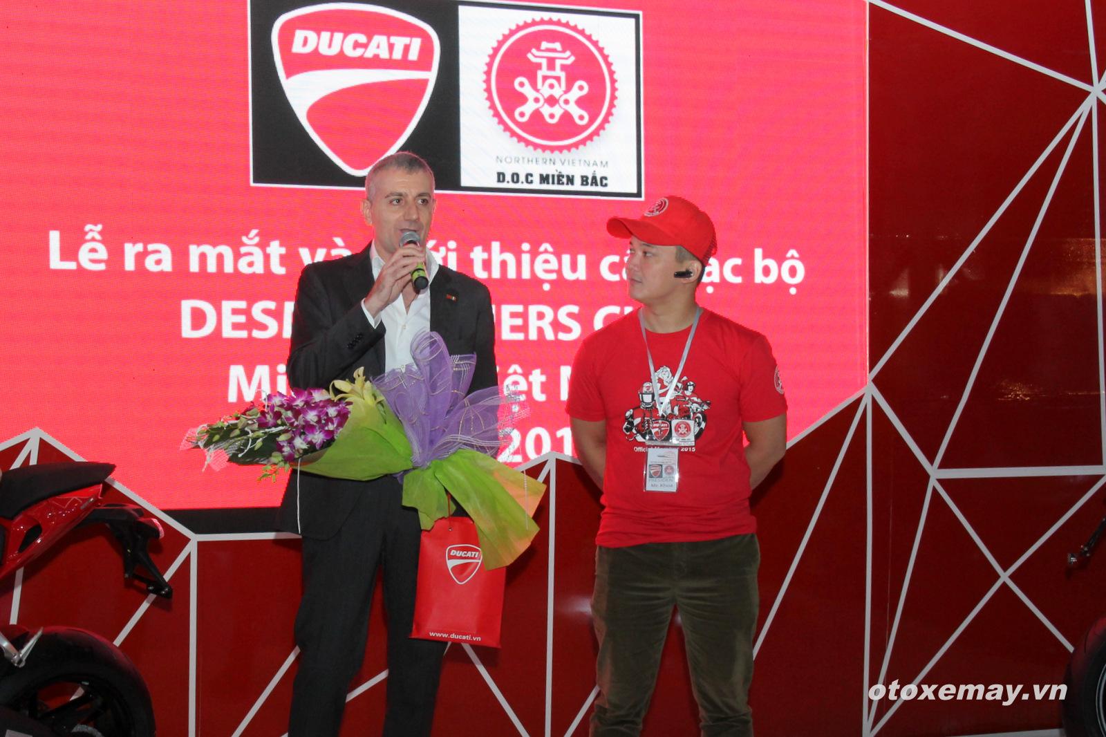 VIMS 2015: D.O.C Miền Bắc chính thức nhập hội Ducatisti thế giới 10