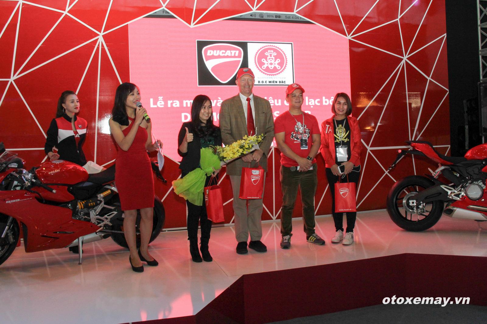 VIMS 2015: D.O.C Miền Bắc chính thức nhập hội Ducatisti thế giới 7