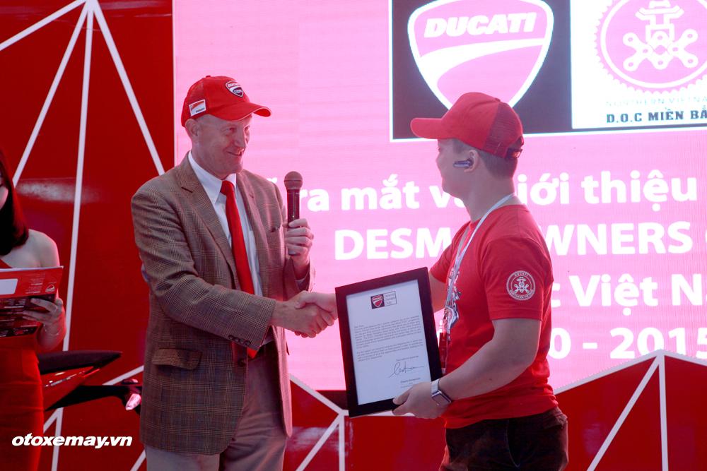 VIMS 2015: D.O.C Miền Bắc chính thức nhập hội Ducatisti thế giới 4