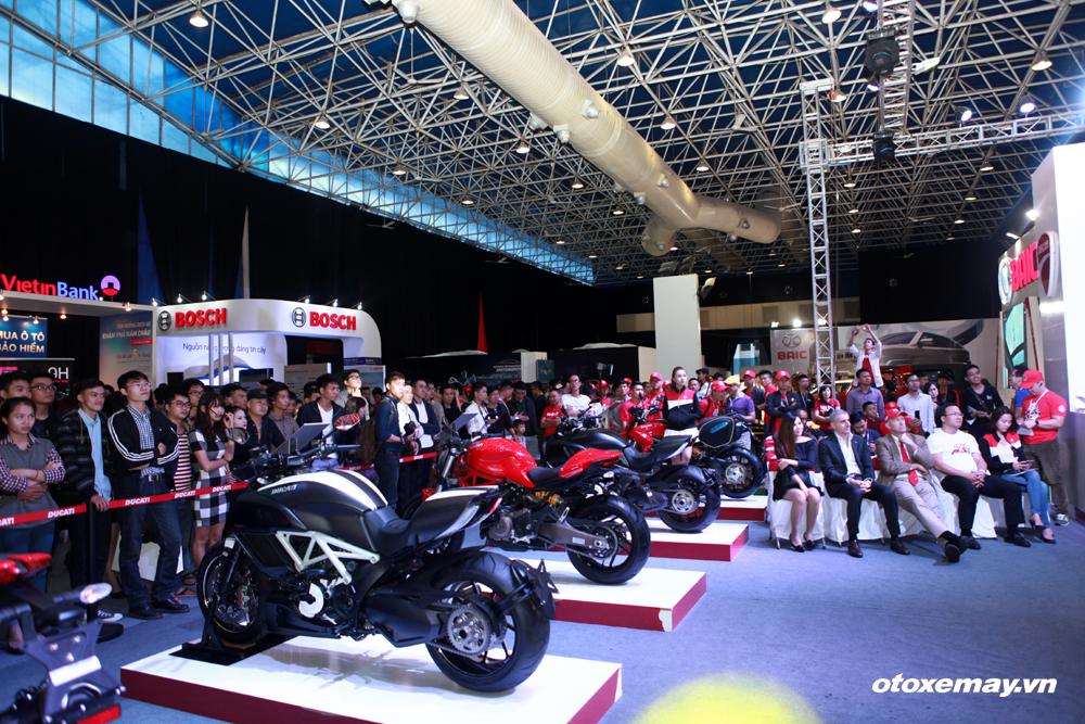VIMS 2015: D.O.C Miền Bắc chính thức nhập hội Ducatisti thế giới_pic7