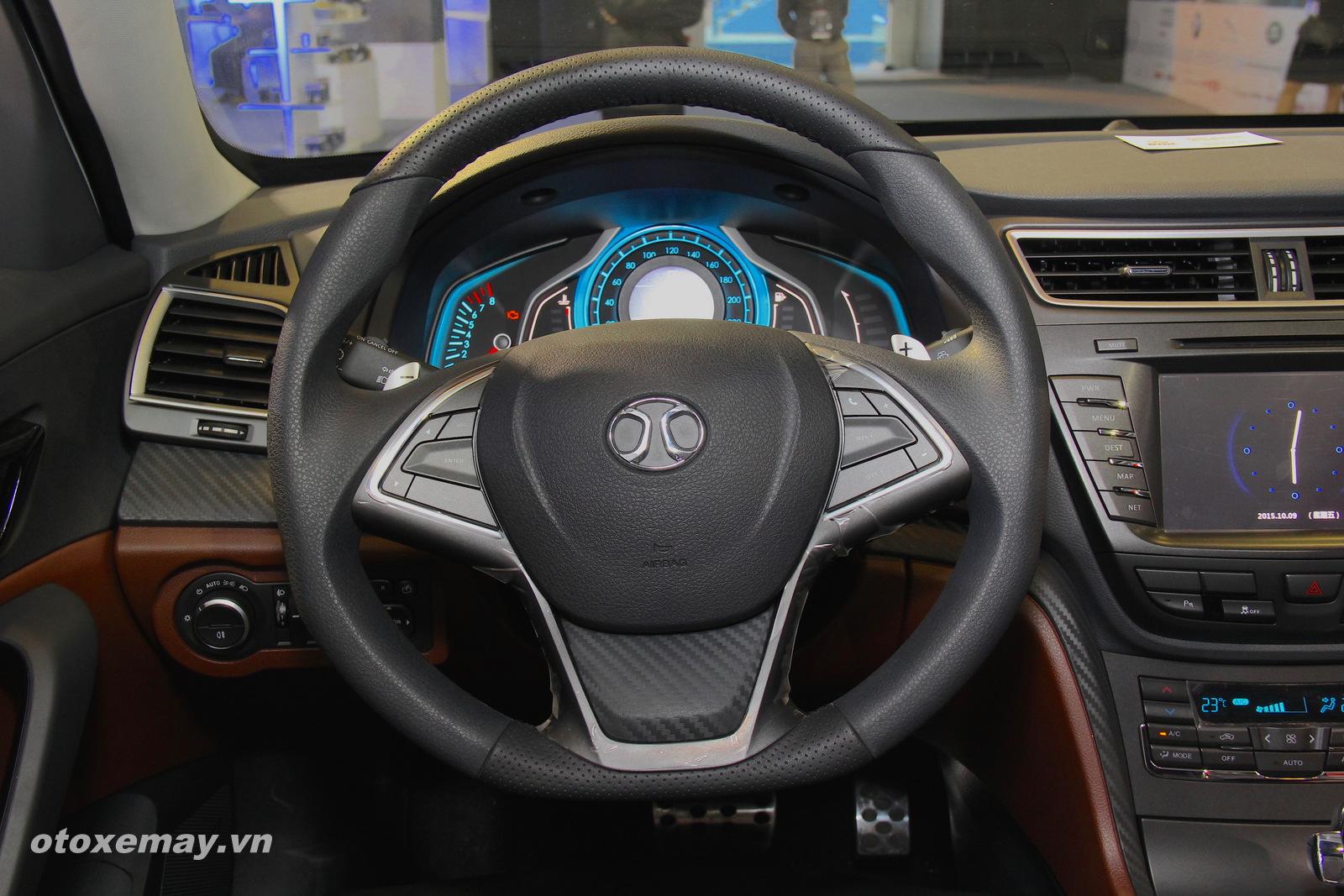 VIMS 2015: Cận cảnh sedan BAIC CC của Trung Quốc 7